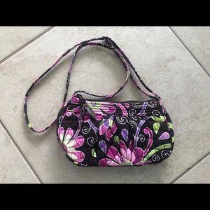 Vera Bradley Purple Paisley Shoulder Bag